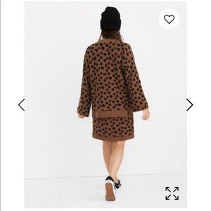 Madewell Sweaters - NWT Madewell leopard dot print cardigan sweater